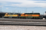 BNSF 2243 & 1791 Working The Yard