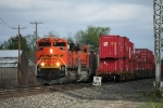 BNSF 9263 and the rolling meet