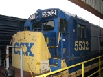 CSX 5532 at the REDI center
