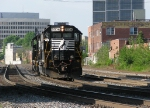 NS 5536 with a light engine move at Jones Ave.