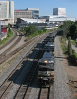 NS South District NB heading past Jones Ave.