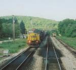 CSX 7317 as seen from amtrak train 29
