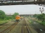 BNSF 6229 as seen from Amtrak train 29