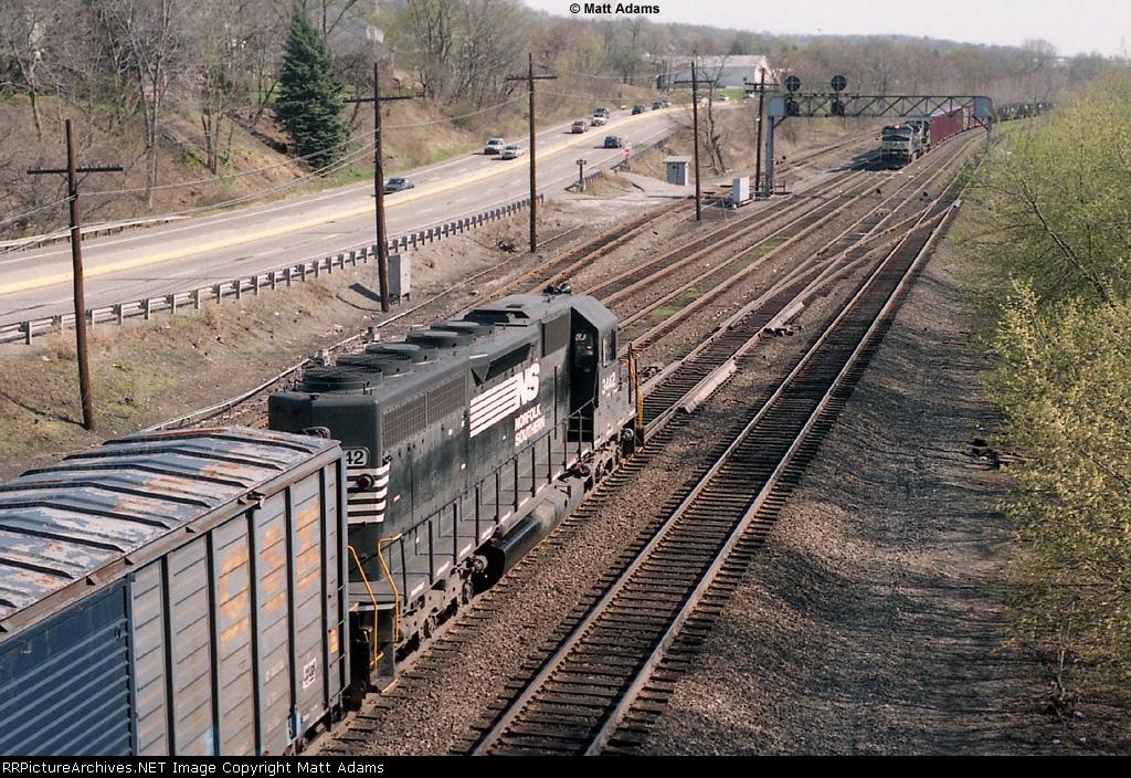 NS SD40-2 3442