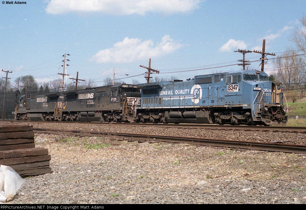 NS 8347 and crew