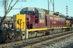 OHCR SD40-2 5855