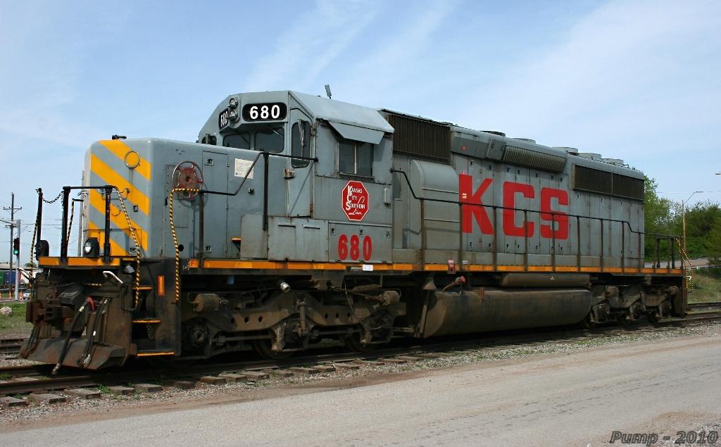 Stored KCS SD40-2