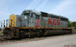Stored KCS SD40-2
