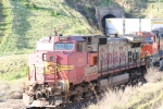 ATSF 683 Northbount exits Tunnel 2