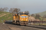 Up 4021 with baretables departs Bealville