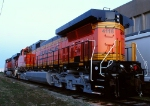 Repainted BNSF 4116