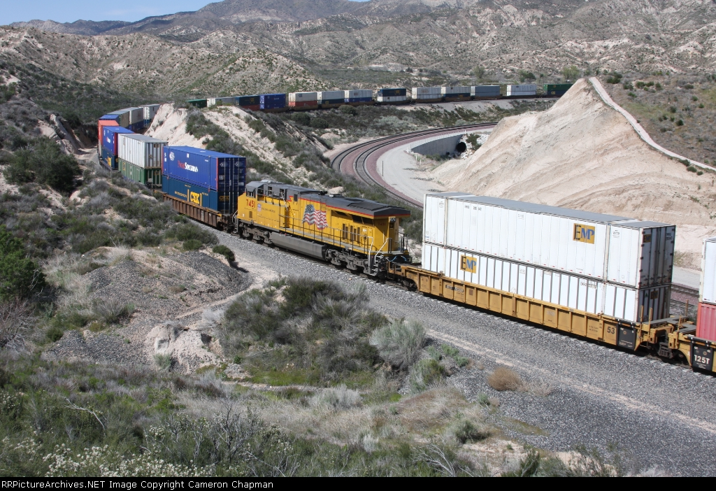 UP 7451 as mid-train DPU