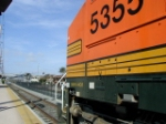 BNSF Daygo and Surfliner meet at Old Town