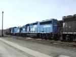 Two Conrail locomotive