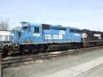 Blue GP40-2