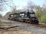 Ex Conrail SD40-2s