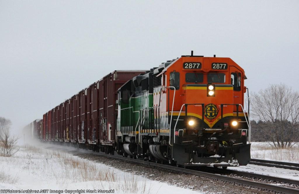 BNSF 2877