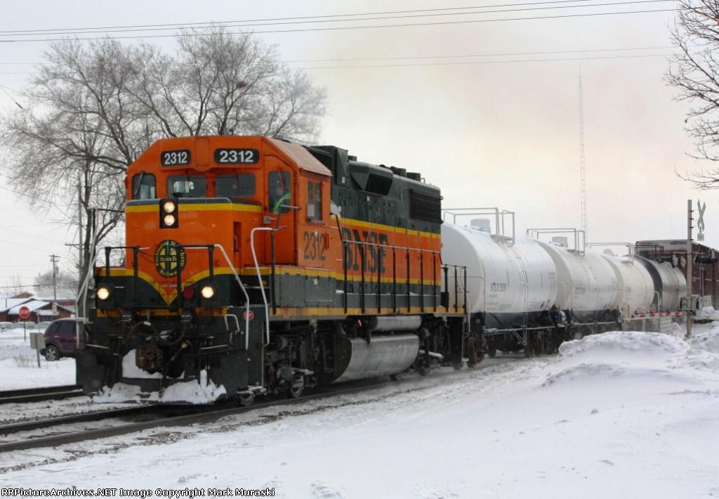 BNSF 2312