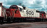 Soo 4435 was the last of an order of 10 GP38-2's