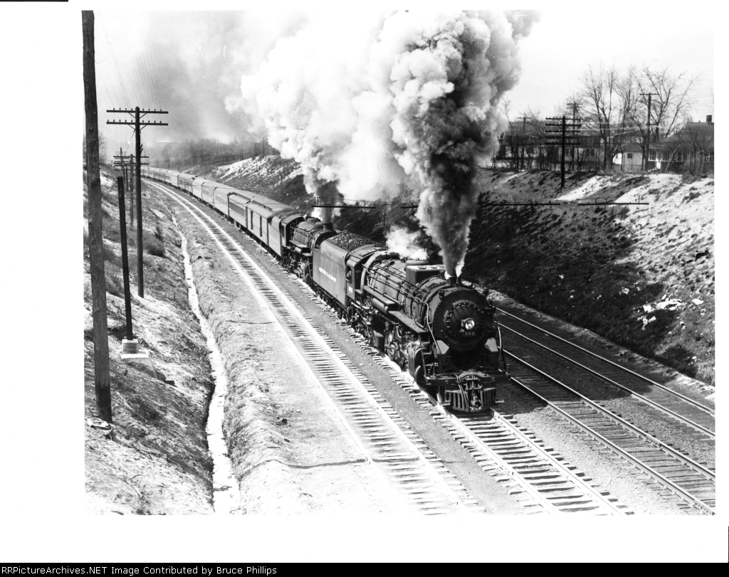 Boston & Albany 4-6-4 & 4-6-2
