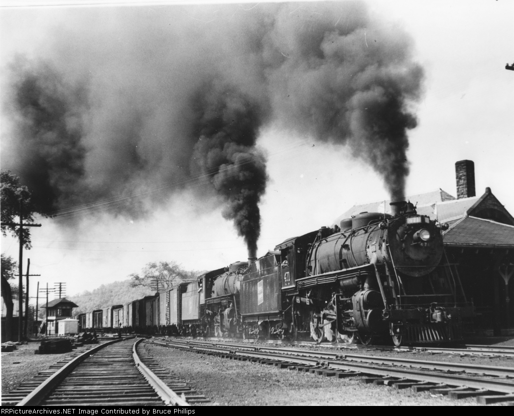 Central Vermont Steam at Palmer Massachusetts