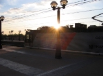Sunset over NJT 4405