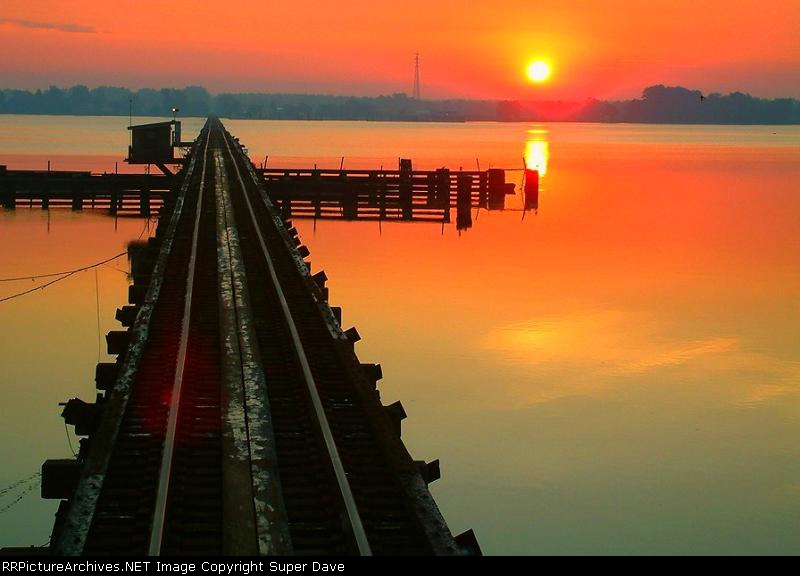 Nuese River Sunrise