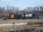 Railink Geep switches Hamilton Yard