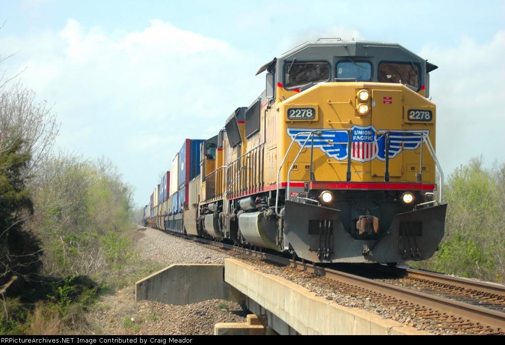 A Northbound Z train notches it up