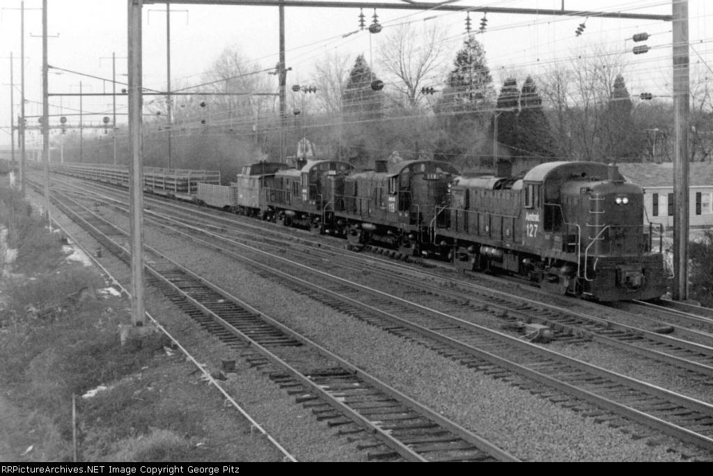 Amtrak rail train