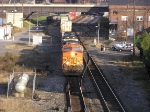NS 213 with BNSF leading