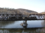 NS 262 crossing Lehigh River