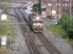 NS 261 departing Bethlehem