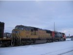 UP SD70M #4087