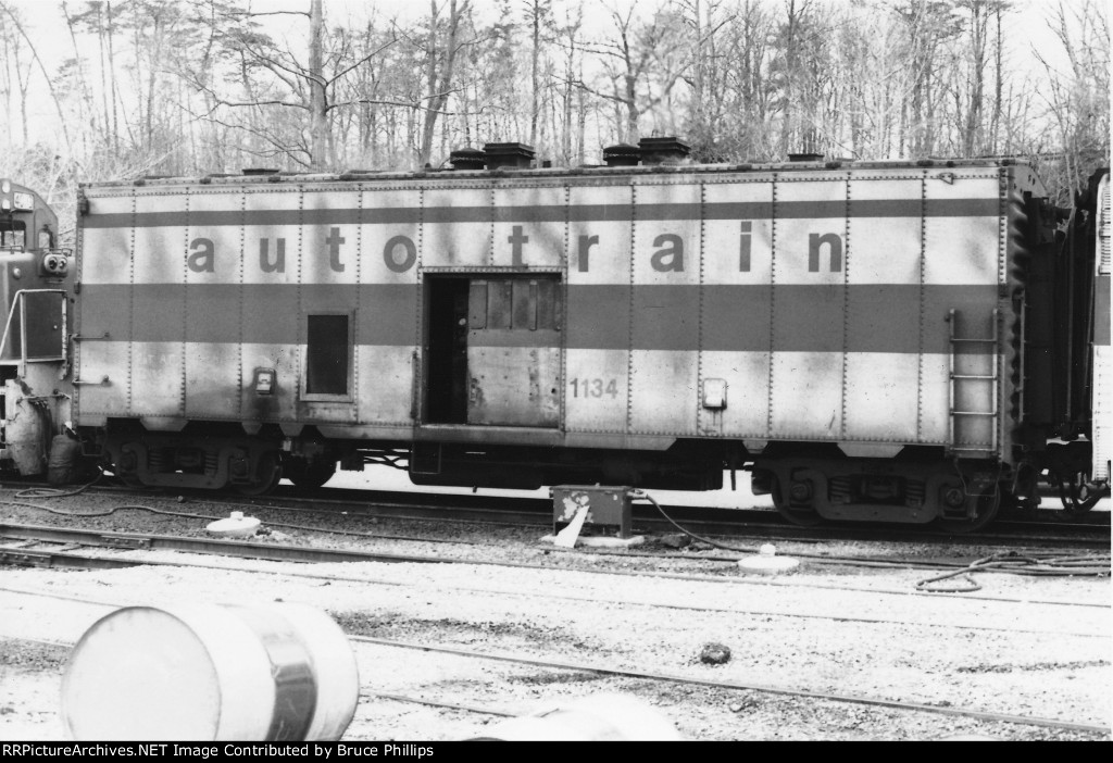 Autotrain 1134 Steam Generator car