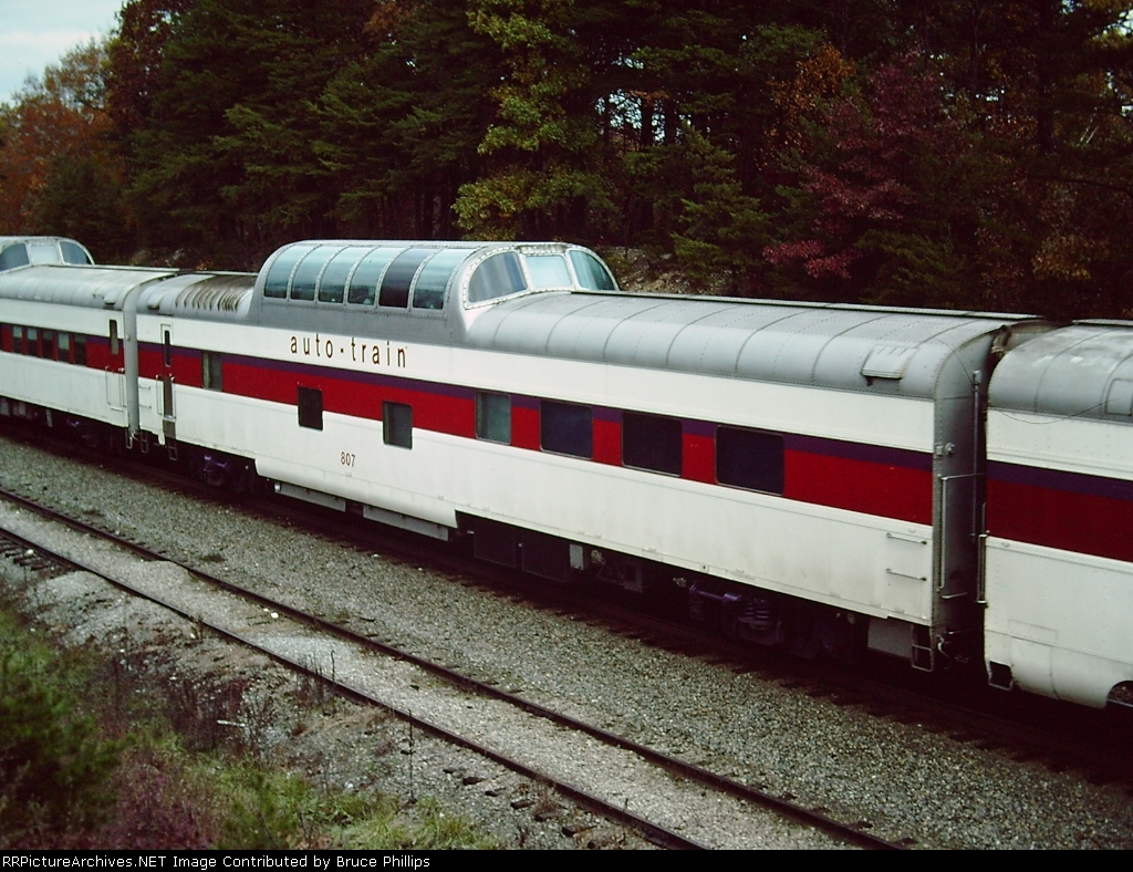 Original Auto Train - Dome Diner #807 - Lorton  VA - Oct. 1976