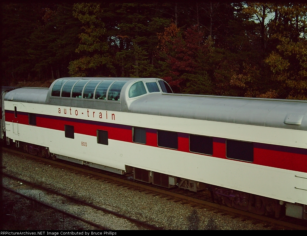 Original Auto-train #800 Dome Diner - 1976