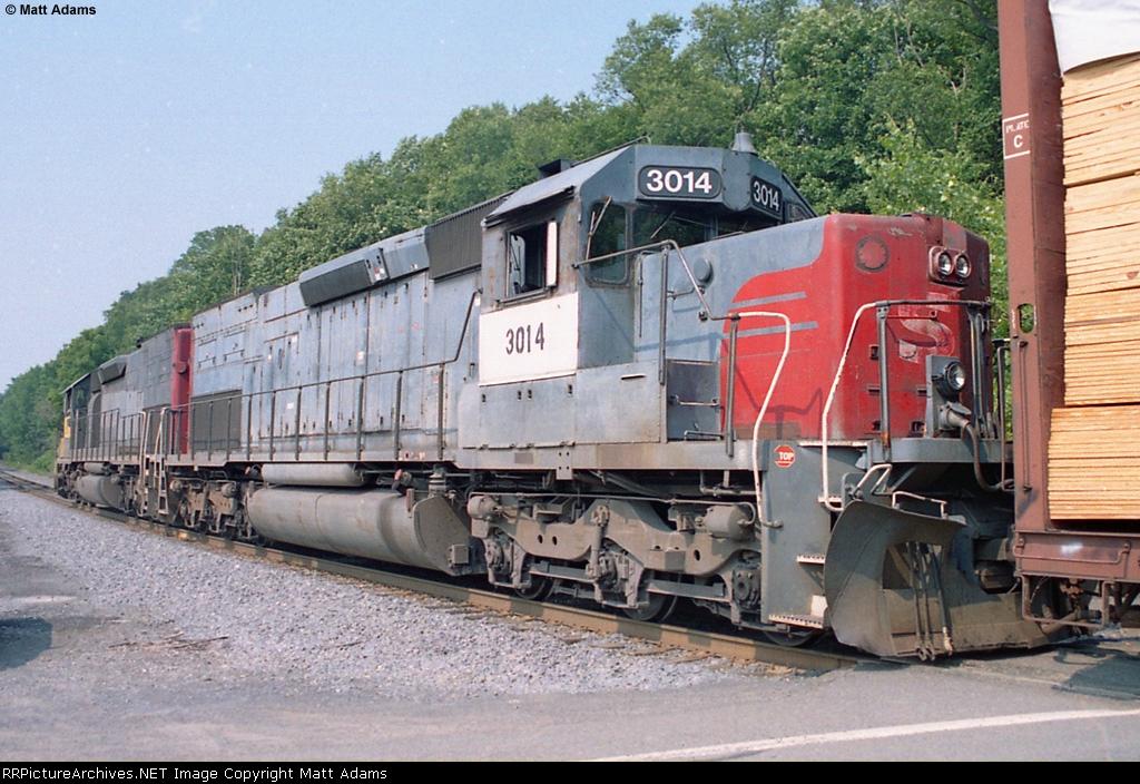 NYSW SD40T-2 3014