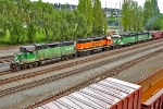 BNSF 2334, 2786, 2816, and 2812