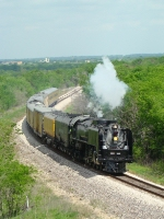 "UP 844 and the ""The Valley Eagle Heritage Tour"" passenger special"