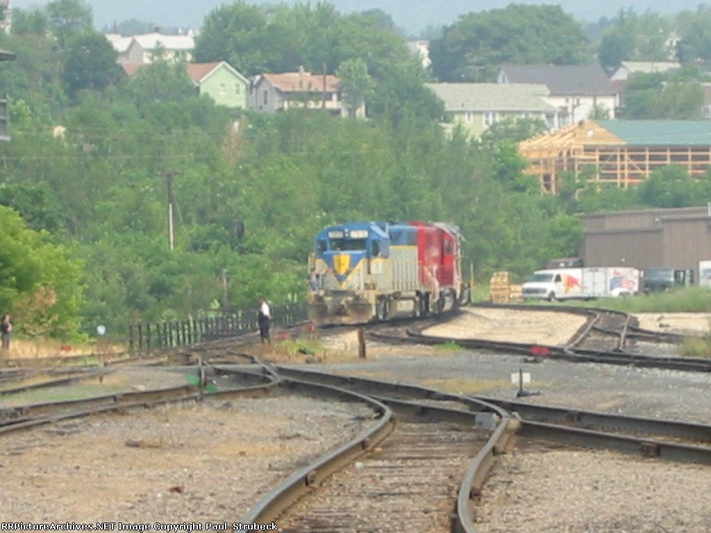 CP Train comming in for the 10th anniversery dispaly
