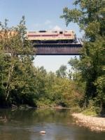 CR 5935 on Honeoye Creek Trestle