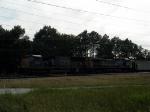 CSX coal train dropping off cars at Dutch Gap