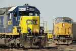 CSX 8360 and UP 8079