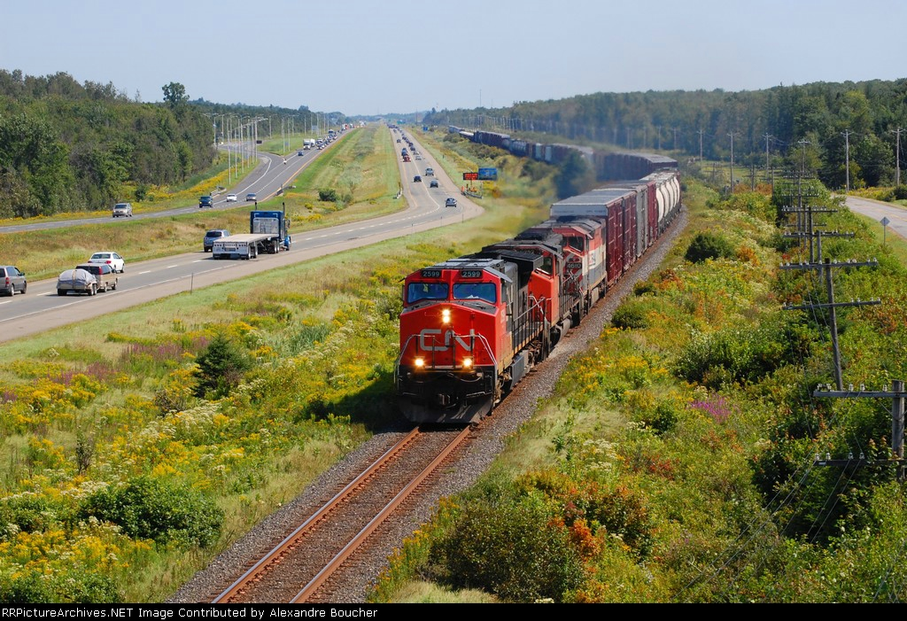 CN 401  at St-Apollinaire