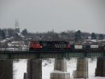 CN 120 on the Chaudire Bridge