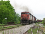 CN 401 starting Joffre yard