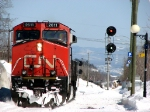 CN 516, slow to clear Charny.