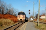 VIA 25 at the Charny station with the Poule aux oeufs dor engin!