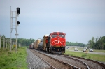 CN 310 waiting on the Laurier Siding
